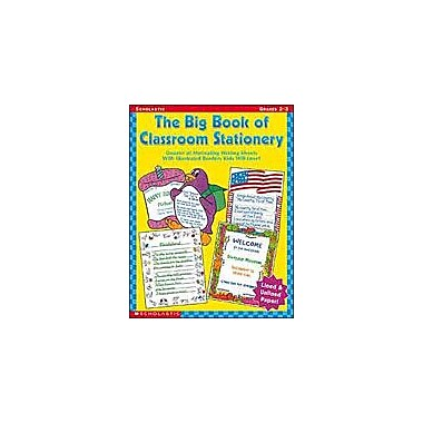 Scholastic The Big Book of Classroom Stationery: Grades 2-3 Teacher Planning Workbook, Grade 2 - Grade 3 [eBook]