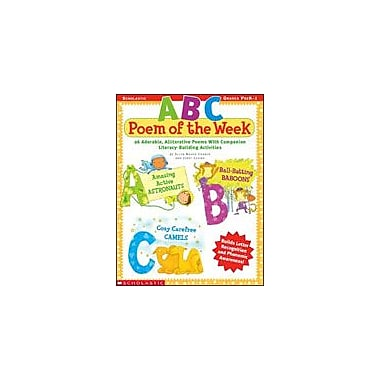 Scholastic ABC Poem of the Week Reading & Writing Workbook, Preschool - Grade 1 [Enhanced eBook]