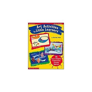 Scholastic Art Activities for Little Learners Art & Music Workbook, Preschool - Kindergarten [Enhanced eBook]