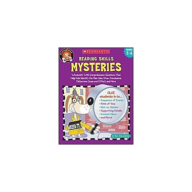 Scholastic Funnybone Books: Reading Skills Mysteries Reading & Writing Workbook, Grade 3 - Grade 6 [Enhanced eBook]