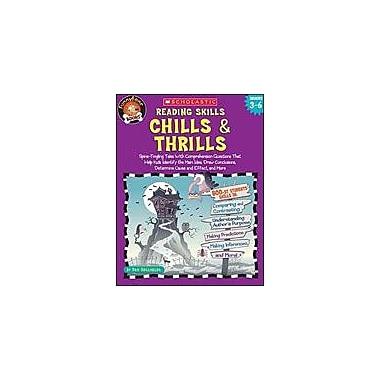 Scholastic Funnybone Books: Reading Skills, Chills and Thrills Reading & Writing Workbook, Grade 3 - Grade 6 [eBook]