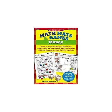 Scholastic Math Mats & Games: Money Puzzles Workbook, Kindergarten - Grade 2 [eBook]