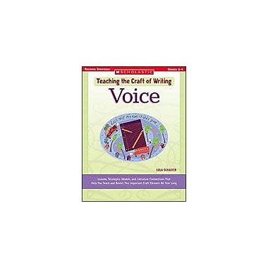 Scholastic Teaching the Craft of Writing: Voice Reading & Writing Workbook, Grade 2 - Grade 4 [eBook]