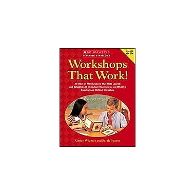 Scholastic Workshops That Work Business Workbook, Grade 4 - Grade 12 [Enhanced eBook]