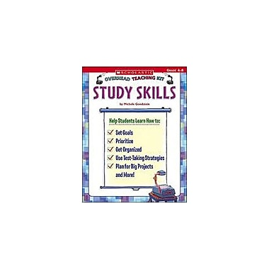 Scholastic Overhead Teaching Kit: Study Skills Test Prep Workbook, Grade 4 - Grade 8 [eBook]