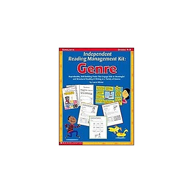 Scholastic Independent Reading Management Kit: Genre Reading & Writing Workbook, Grade 4 - Grade 8 [Enhanced eBook]