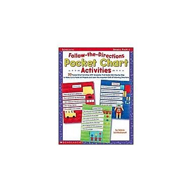 Scholastic Follow-The-Directions Pocket Chart Activities Character & Social Skills Workbook, Preschool - Grade 1 [eBook]