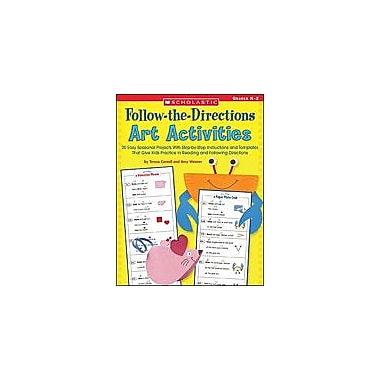 Scholastic Follow-The-Directions Art Activities Art & Music Workbook, Kindergarten - Grade 2 [Enhanced eBook]