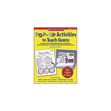 Scholastic Pop-Up Activities To Teach Genre Language Arts Workbook, Grade 3 - Grade 5 [Enhanced eBook]