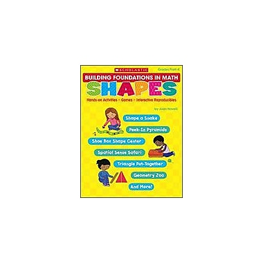 Scholastic Building Foundations In Math: Shapes Math Workbook, Preschool - Kindergarten [Enhanced eBook]