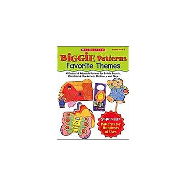 Scholastic Biggie Patterns: Favorite Themes Art & Music Workbook, Preschool - Grade 3 [eBook]