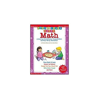 Scholastic Toss and Learn Games: Math Math Workbook, Preschool - Kindergarten [eBook]