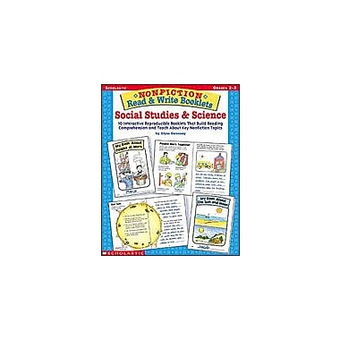 Scholastic Nonfiction Read & Write Booklets: Social Studies & Science Science Workbook, Grade 2 - Grade 3 [Enhanced eBook]