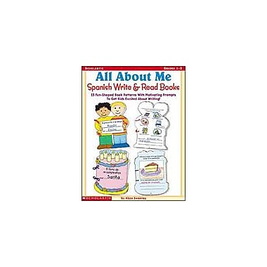 Scholastic All About Me Spanish Write and Read Books Language Arts Workbook, Grade 1 - Grade 2 [eBook]