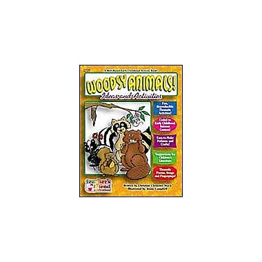 Scholastic Early Childhood Thematic Books: Woodsy Animals Math Workbook, Preschool - Grade 1 [Enhanced eBook]