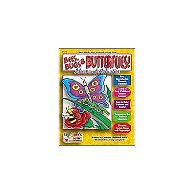 Scholastic Early Childhood Thematic Books: Bees, Bugs and Butterflies Math Workbook, Preschool - Grade 1 [eBook]
