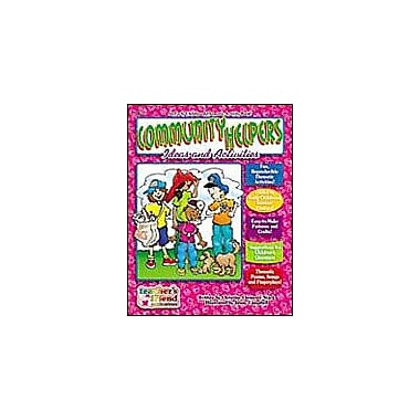 Scholastic Community Helpers Early Childhood Thematic Books Math Workbook, Preschool - Grade 1 [Enhanced eBook]