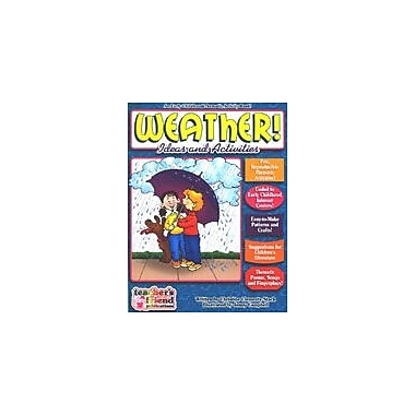 Scholastic Weather Early Childhood Thematic Books Math Workbook, Preschool - Grade 1 [Enhanced eBook]
