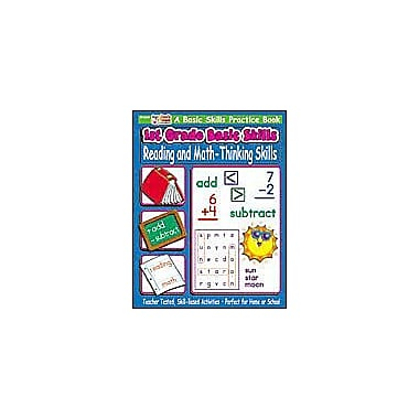 Scholastic 1st Grade Basic Skills: Reading and Math - Thinking Skills Problem Solving Workbook, Grade 1 [eBook]