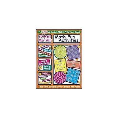 Scholastic 4th Grade Basic Skills: Math Fun Activities Math Workbook, Grade 4 [eBook]