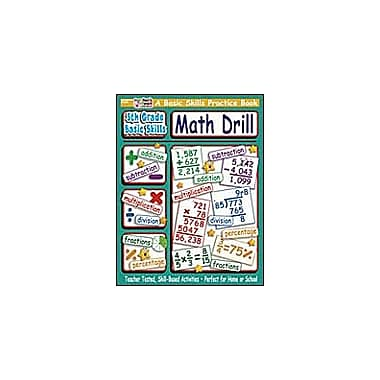 Scholastic 5th Grade Basic Skills: Math Drill Math Workbook, Grade 5 [Enhanced eBook]