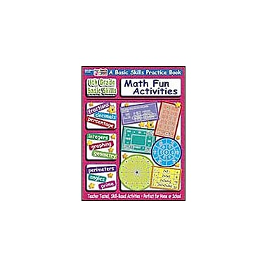 Scholastic 6th Grade Basic Skills: Fun Math Activities Math Workbook, Grade 6 [Enhanced eBook]