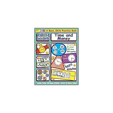 Scholastic Grades 2-4 Basic Skills: Time and Money Math Workbook, Grade 2 - Grade 4 [eBook]