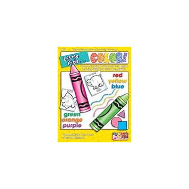 Scholastic Little Kids . . . Color Language Arts Workbook, Preschool - Grade 1 [eBook]