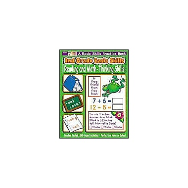 Scholastic 2nd Grade Basic Skills: Reading and Math - Thinking Skills Problem Solving Workbook, Grade 2 [eBook]