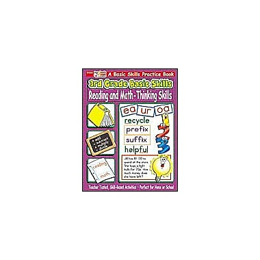 Scholastic 3rd Grade Basic Skills: Reading and Math - Thinking Skills Problem Solving Workbook, Grade 3 [Enhanced eBook]