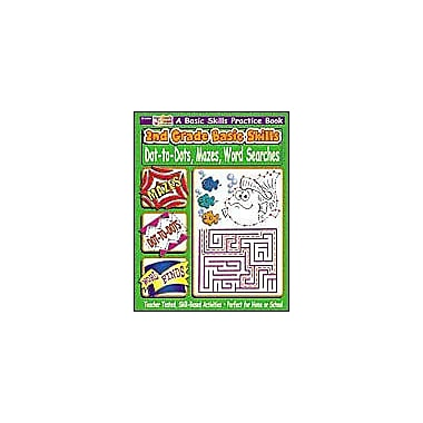 Scholastic 2nd Grade Basic Skills: Dot-To-Dots, Mazes, Word Searches Problem Solving Workbook, Grade 2 [eBook]