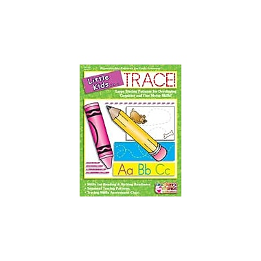 Scholastic Little Kids . . . Trace Reading & Writing Workbook, Preschool - Grade 1 [Enhanced eBook]