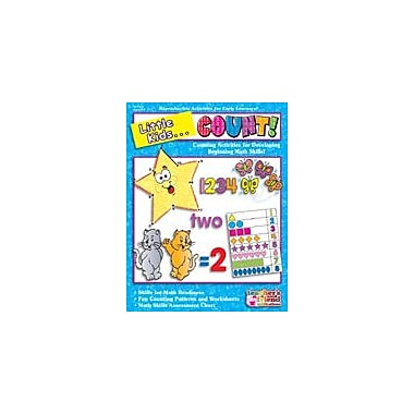 Scholastic Little Kids . . . Count Art & Music Workbook, Preschool - Grade 1 [Enhanced eBook]