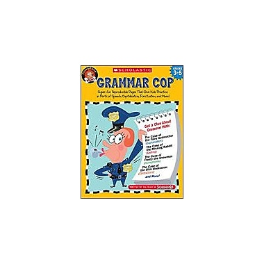 Scholastic Grammar Cop Language Arts Workbook, Grade 3 - Grade 5 [Enhanced eBook]