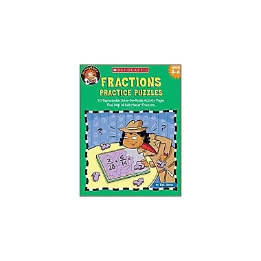 Scholastic Funnybone Books: Fractions Practice Puzzles Math Workbook, Grade 4 - Grade 6 [Enhanced eBook]