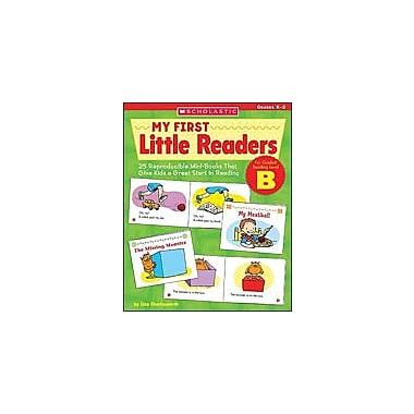 Scholastic My First Little Readers: Level B Reading & Writing Workbook, Kindergarten - Grade 2 [Enhanced eBook]