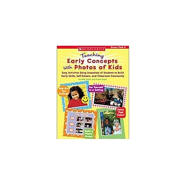 Scholastic Teaching Early Concepts With Photos of Kids Art & Music Workbook, Preschool - Grade 1 [Enhanced eBook]