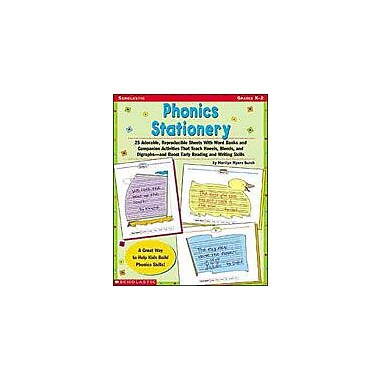 Scholastic Phonics Stationery Reading & Writing Workbook, Kindergarten - Grade 2 [Enhanced eBook]