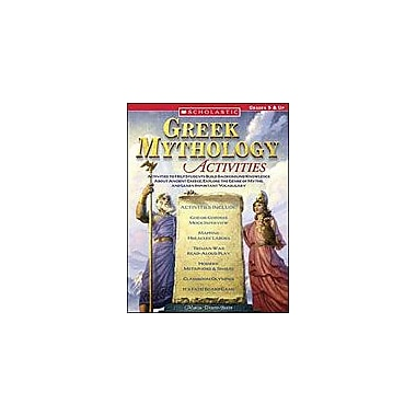 Scholastic Greek Mythology Activities Social Studies Workbook, Grade 5 - Grade 12 [eBook]