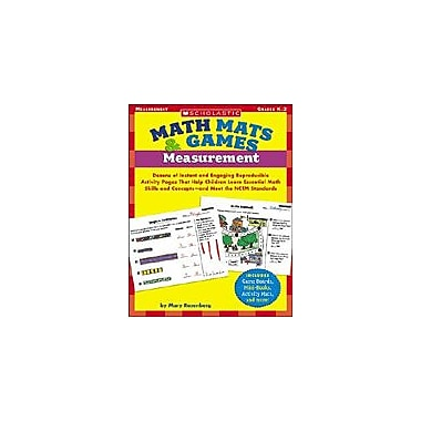 Scholastic Math Mats & Games: Measurement Puzzles Workbook, Kindergarten - Grade 2 [Enhanced eBook]
