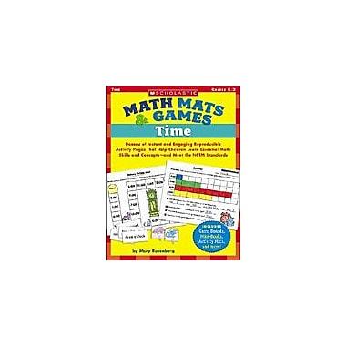 Scholastic Math Mats & Games: Time Puzzles Workbook, Kindergarten - Grade 2 [eBook]