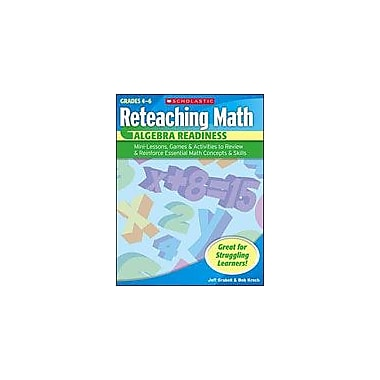 Scholastic Reteaching Math: Algebra Readiness Math Workbook, Grade 2 - Grade 4 [Enhanced eBook]