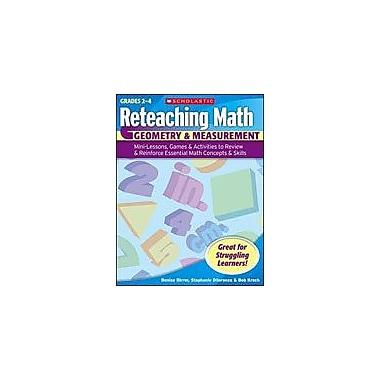 Scholastic Reteaching Math: Geometry & Measurement Math Workbook, Grade 4 - Grade 6 [Enhanced eBook]
