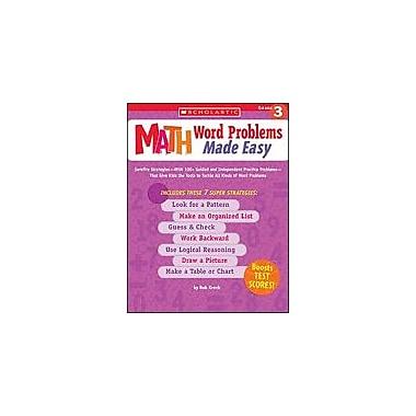 Scholastic Math Word Problems Made Easy: Grade 3 Math Workbook, Grade 3 [Enhanced eBook]