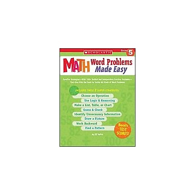 Scholastic Math Word Problems Made Easy: Grade 5 Math Workbook, Grade 5 [Enhanced eBook]