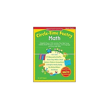 Scholastic Circle-Time Poetry: Math Math Workbook, Preschool - Grade 1 [Enhanced eBook]