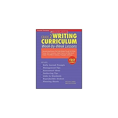 Scholastic Grade 2 Writing Curriculum: Week-By-Week Lessons Language Arts Workbook, Grade 2 [Enhanced eBook]