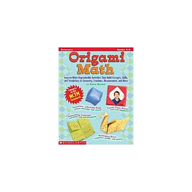 Scholastic Origami Math: Grades 4-6 Art & Music Workbook, Grade 4 - Grade 6 [Enhanced eBook]