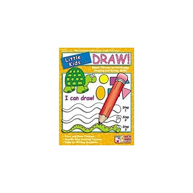 Scholastic Little Kids . . . Draw Art & Music Workbook, Preschool - Grade 1 [Enhanced eBook]