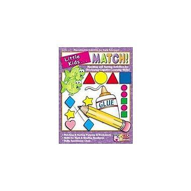 Scholastic Little Kids . . . Match Problem Solving Workbook, Preschool - Grade 1 [eBook]